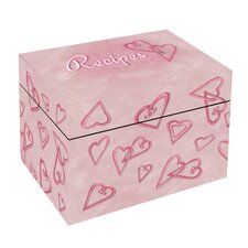 Hearts Recipe Box