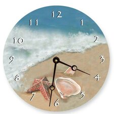 "18"" Ocean Shells Wall Clock"