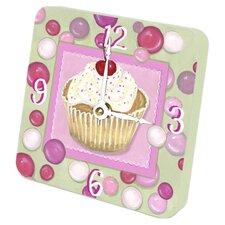 Cupcake Tiny Times Clock