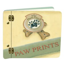 Dog Prints Book Mini Album
