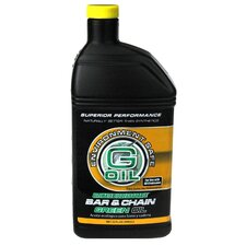 32 Oz Bar & Chain Green Engine Oil 337121