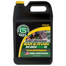 1 Gallon Bar & Chain Green Engine Oil 337122