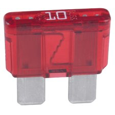 5 Count Red 10 Amp ATC Blade Type Fuses ATC10