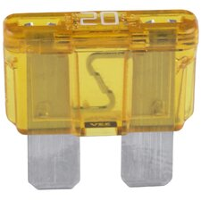 5 Count Yellow 20 Amp ATC Blade Type Fuses ATC20