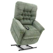 Heritage Collection Large 3-Position Lift Chair with Button Back - Quick Ship