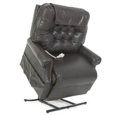 Heritage Collection Very Heavy Duty 3-Position Lift Chair with Button Back - Quick Ship