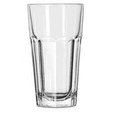 Gibraltar 4 Piece Cooler Glass Set