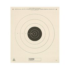 50 Yard Timed and Rapid Fire Tag Board NRA Target (Pack of 12)
