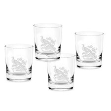 Glen Lodge 12 oz. Pheasant Double Old Fashioned (Set of 4)