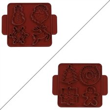 <strong>Nordicware</strong> Kitchenware Christmas / Winter Cookie Cutter Sheet