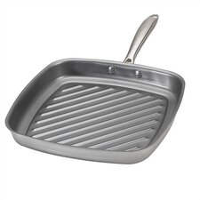 "Superior Steel 10.5"" Grill Pan"