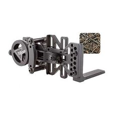 Accudial Right Handed Mount with Sight Bracket and Rail Adapter in Lost Camo
