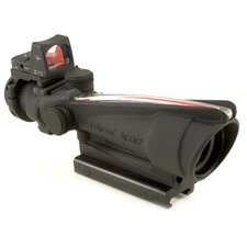 ACOG 3.5x35 Scope with Dual Illuminated Red Crosshair 223 Ballistic Reticle and 3.25 MOA RMR Sight