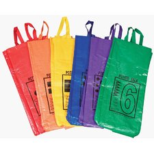 <strong>Learning Carpets</strong> Jumping Bags 6 Piece Set