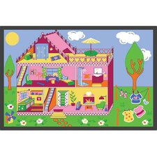 <strong>Learning Carpets</strong> Play Carpet Our Dream House Kids Rug