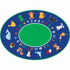 Cut Pile Fun with Animals Kids Rug