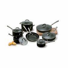 <strong>Calphalon</strong> Simply Enamel 14-Piece Cookware Set