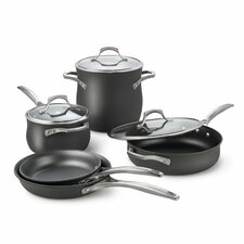 <strong>Calphalon</strong> Unison Nonstick 8-Piece Cookware Set