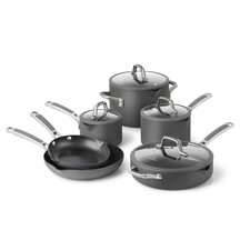 <strong>Calphalon</strong> Easy System Nonstick 10-Piece Cookware Set