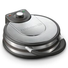 Kitchen Electrics No Peek Round Waffle Maker