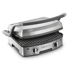 5-in-1 Removable Plate Grill
