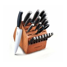 <strong>Calphalon</strong> Contemporary 21-Piece Knife Block Set