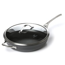 "Contemporary Nonstick 13"" Deep Skillet"