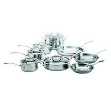 Try-Ply Stainless Steel 13-Piece Cookware Set