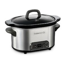 4-Quart Digital Slow Cooker