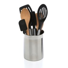 7 Piece Mixed Utensil Set with Crock