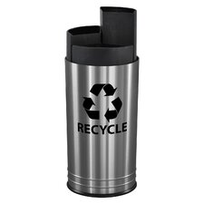 Three Stream Indoor Recycling Receptacle