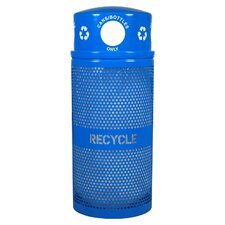Landscape Series Outdoor Industrial Recycling Bin
