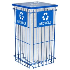 Clean Grid Outdoor 45 Gallon Industrial Recycling Bin