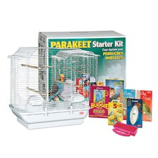 Living World Parakeet Belvedere Bird Starter Kit