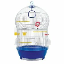 Living World Bird Cage with 2 Pull-Out Drawers