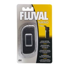 Fluval Nano Carbon Cartridge (2 Pieces)