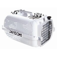 Catit Style White Tiger Voyager Cat Carrier