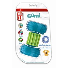 <strong>Hagen</strong> Dogit Design GUMI Dental Dog Toy - Chew and Clean