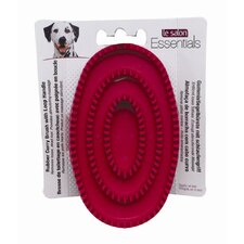 <strong>Hagen</strong> Le Salon Essentials Rubber Curry Dog Grooming Brush with Loop Handle