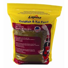 Laguna Large Pellet Goldfish and Koi Floating Food - 4.4 lbs