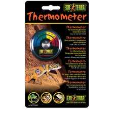 Exo Terra Celsius and Fahrenheit Thermometer