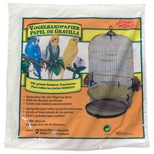Living World Gravel Paper for Birds (8 Pack)