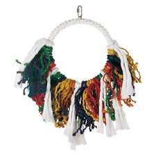 Living World Jumbo Rope Dream Catcher Bird Toy