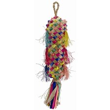 Living World Nature's Treasure Colorful Buri Lantern Hookbill Bird Toy