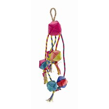 Living World Nature's Treasure Buri Tassel Small and Medium  Hookbill Bird Toy