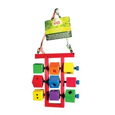 Living World Learning Blocks Hookbill Bird Toy