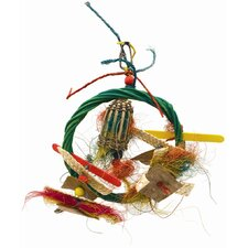 Living World Nature's Treasure Ring Around the Bird Cage Toy