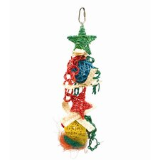 Living World Nature's Treasure Hanging Wicker Rings Bird Toy