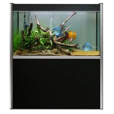 Fluval Profile Complete 72 Gallon Aquarium Set with Silver Trim