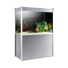 <strong>Hagen</strong> Fluval Profile Complete 72 Gallon Aquarium Set with Silver Trim